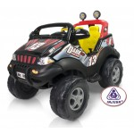Jeep electric 12V Injusa Dark Fire