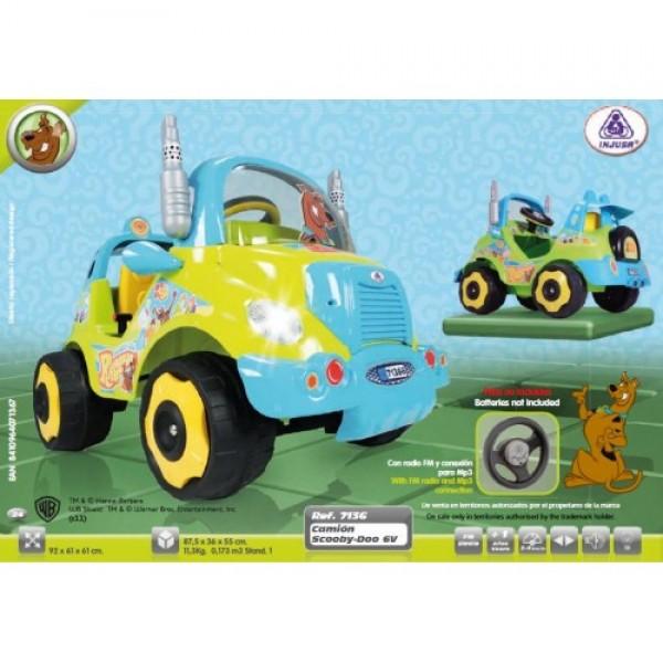 Masina Electrica Injusa Scooby Doo 7136