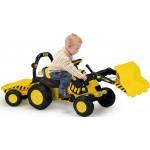 Tractor excavator cu pedale si remorca Injusa 410