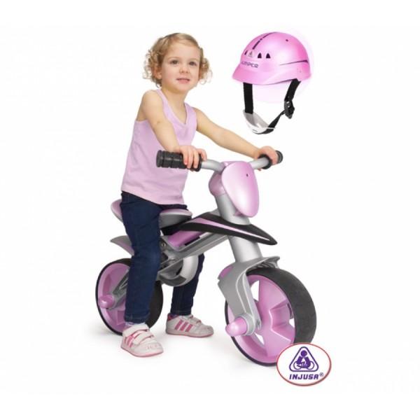Bicicleta de balans Injusa cu casca