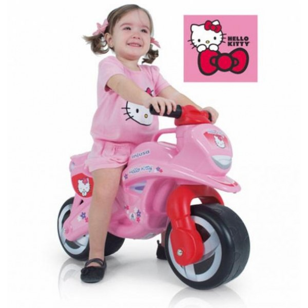 Motocicleta fara pedale Hello Kitty Injusa 1954