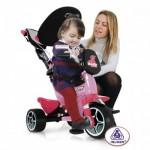 Tricicleta pentru copii Injusa Body Rosa