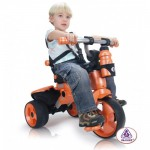 Tricicleta pentru copii Injusa City 326 verde