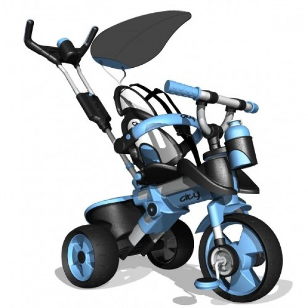Tricicleta pentru copii Injusa City 326 albastra